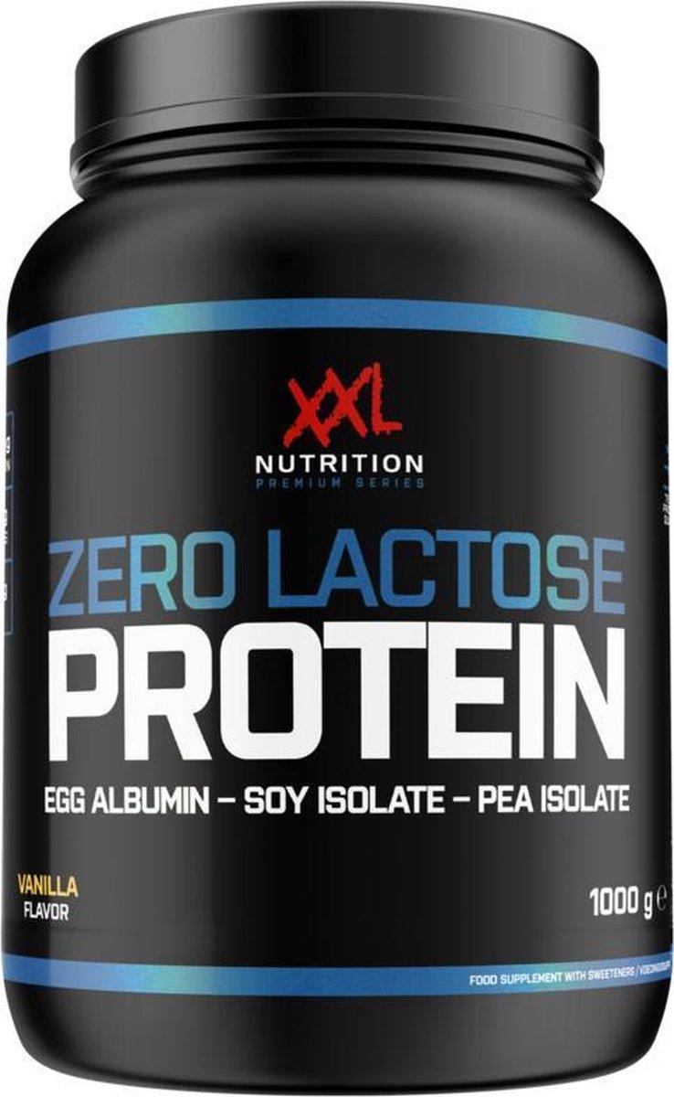 XXL Nutrition Zero Lactose Protein - Proteïne Poeder / Proteïne Shake - Vanille 1000 gram