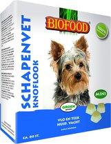 Biofood Schapenvet Mini Bonbons - Knoflook - 80 stuks