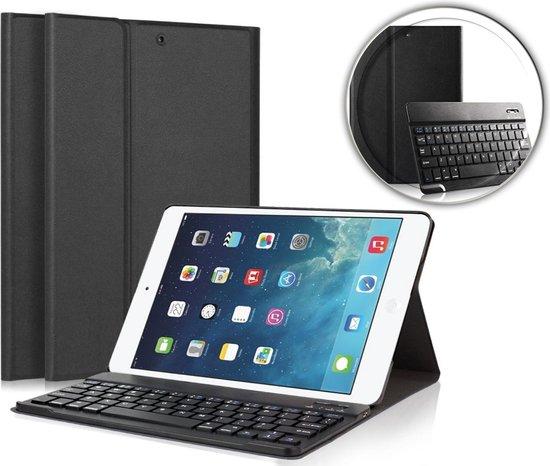 iCall Apple iPad Mini (2019) Mini 4 Hoes met Toetsenbord Book Case Bluetooth Keyboard Cover Zwart