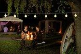 CBD Partyverlichting - 50 LED - ø2.5 cm - Mat Wit - 10m