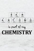 San Antonio Is Part of My Chemistry