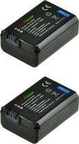 ChiliPower Sony NP-FW50 camera batterij - 2 stuks verpakking