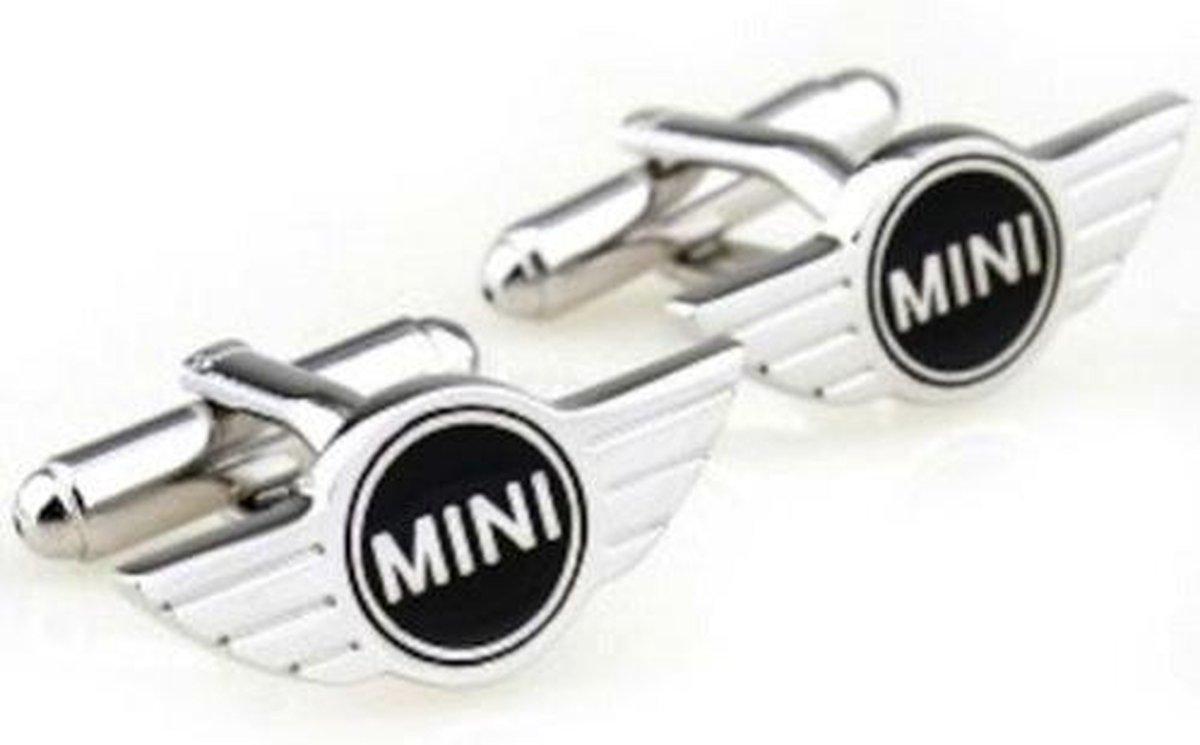 Mini Zilver Manchetknopen - Clockx