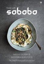 Boek cover Feast with Sababa van Tal Smith