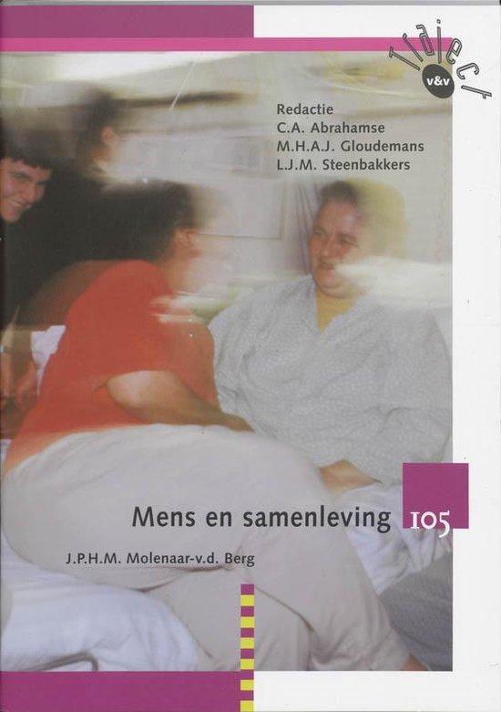 Traject V&V - Mens en samenleving 105 Leerlingenboek - J.P.H.M. Molenaar-v.d. Berg |