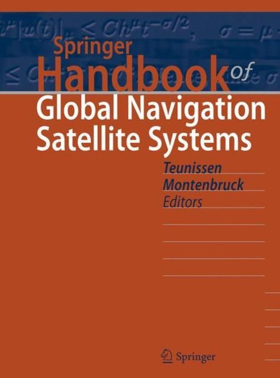 Boek cover Springer Handbook of Global Navigation Satellite Systems van  (Hardcover)