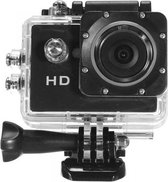 Hd Action-camera 720p Waterdicht Zwart