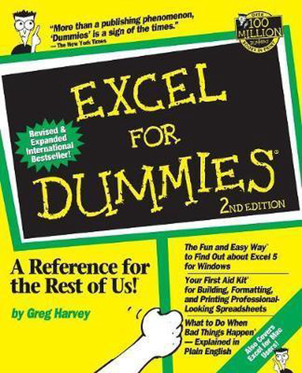Microsoft excel for dummies paperback
