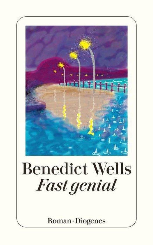 Boek cover Fast genial van Benedict Wells
