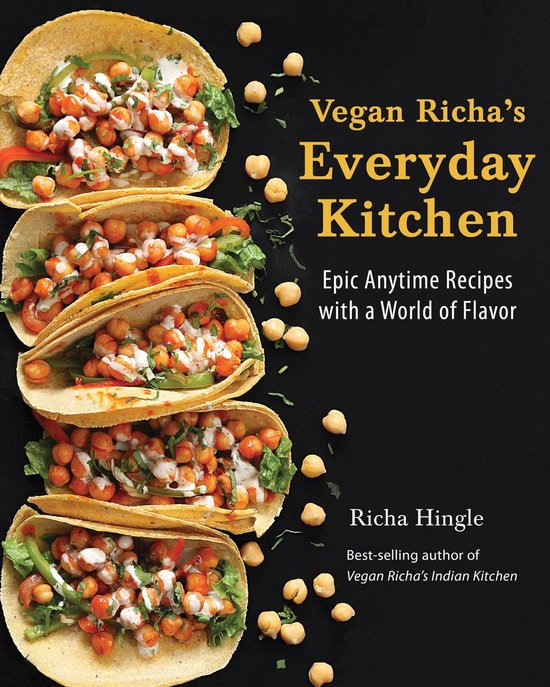 Boek cover Vegan Richas Everyday Kitchen van Richa Hingle (Onbekend)