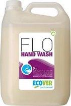 Ecover handzeep Flo voor frequent gebruik bloemenparfum flacon van 5 liter