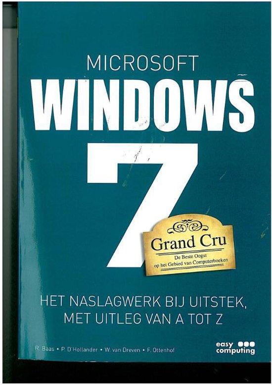Windows 7 Grand Cru - Rob Baas   Readingchampions.org.uk