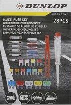 Dunlop 28-delige Zekeringenset - Zekering Auto -  Uitgebreide Zekeringen Set