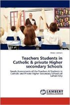 Teachers Students in Catholic & Private Higher Secondary Schools