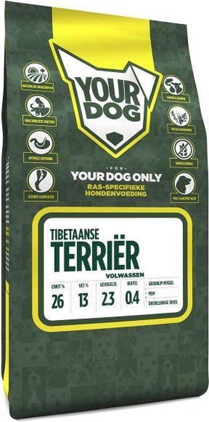 Yourdog tibetaanse terriã?r hondenvoer volwassen 3 kg