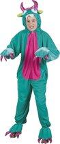 Onesie Kinderkostuum Monster Pluche - Maat 140 - Carnavalskleding