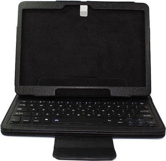 Javu Samsung Galaxy Tab S 10.5 Bluetooth Toetsenbord Book Case Keyboard Zwart