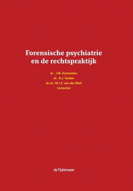 Boek cover Forensische psychiatrie en de rechtspraktijk van H.J.C. van Marle (Hardcover)