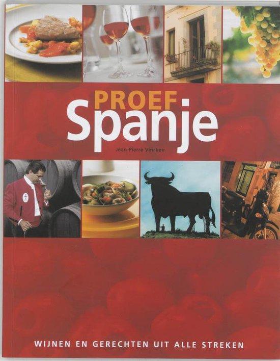 Boek cover Proef Spanje van J.P. Vincken (Paperback)