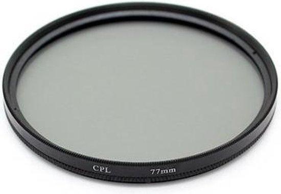 Polarisatie Filter - 62 MM - Circulair CPL Foto Lens Filter - Voor Canon / Nikon / Sony Camera