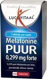 Lucovitaal - Melatonine Tabletjes 0,299 mg - 500 tabletten - Voedingssupplementen