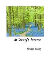 At Society's Expense