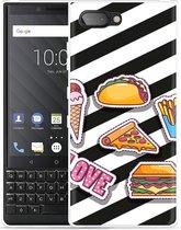 BlackBerry Key2  Hoesje Love Fast Food