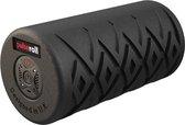 Pulseroll Vibrerende Foamroller met 4 Tril Niveaus - Zwarte Fitness Roller 30 cm incl. Draagtas en Afstandsbediening