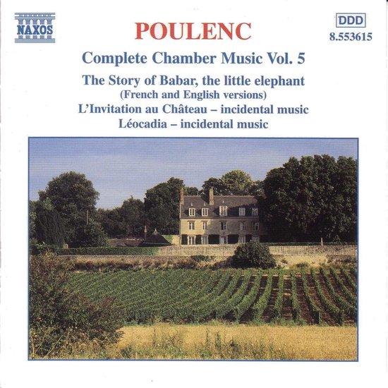 Poulenc:Com.Chamber Music Vo.5