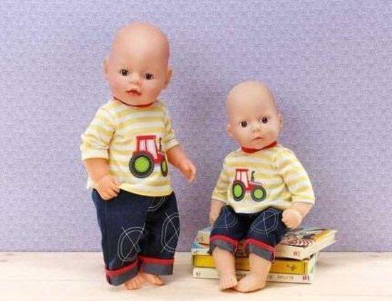 Dolly Moda Broek en Shirt - 38-46 cm - Poppenkleertjes - Dolly Moda