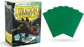 100 hoesjes Dragon Shield MATTE Green Standaard Maat Card Sleeves