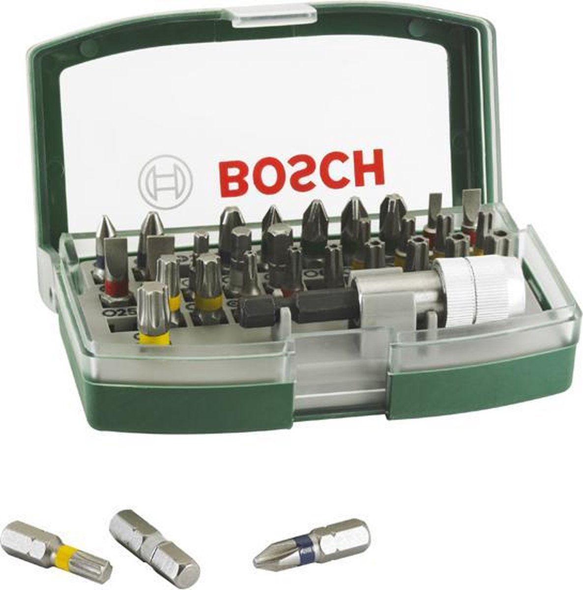 Bosch accessoire bitset - 32 delig - Met kleurcode