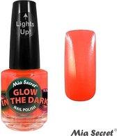 Glow in the Dark Nagellak Orange