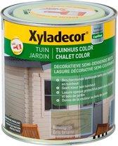 Xyladecor Tuinhuis Color - Houtbeits - Nevelgrijs - Mat - 1L