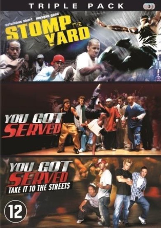 Cover van de film 'Stomp The Yard/You Got Served/You Got Served: Take It To The Streets'