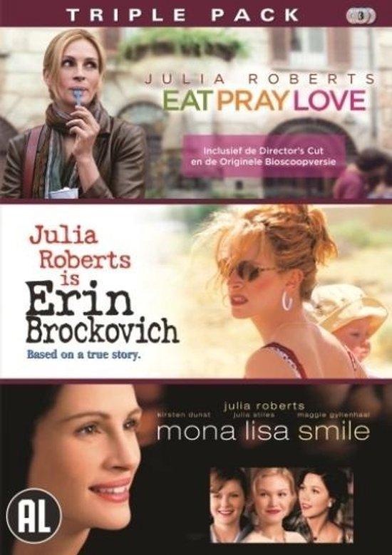 Cover van de film 'Eat Pray Love/Erin Brockovich/Mona Lisa Smile'