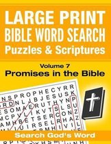 Large Print - Bible Word Search Puzzles with Scriptures, Volume 7