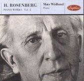 H. Rosenberg: Piano Works