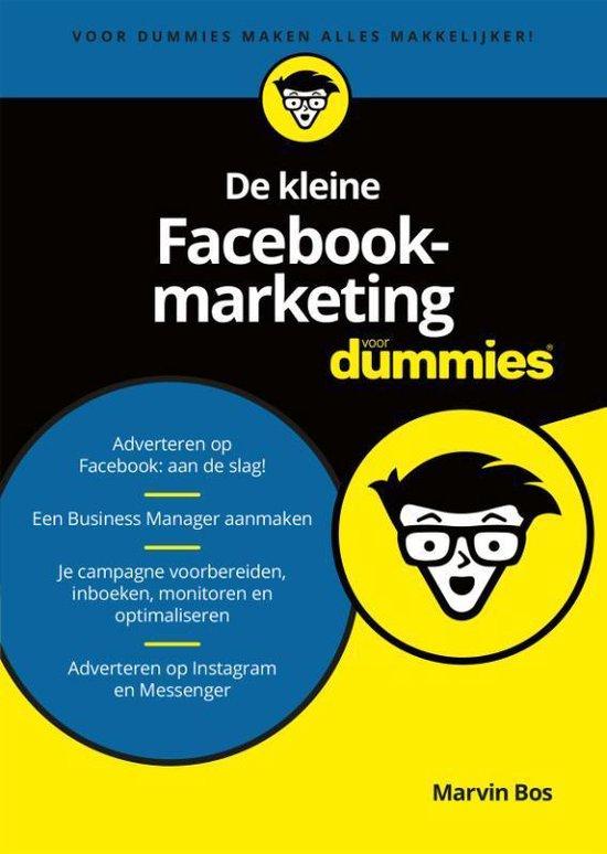 De kleine Facebookmarketing voor Dummies - Marvin Bos  
