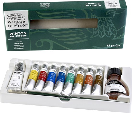 Winsor & Newton Winton Oil Colour Studio Set