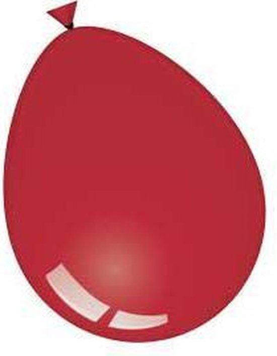 Ballonnen bordeaux (Ø12,5cm, 100st)