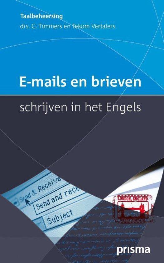 E-mails en brieven schrijven in het Engels - Corriejanne Timmers |