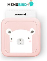 Memobird® Mobiele Portable Pocket Printer – Bluetooth - Draag & Meeneembaar - Roze