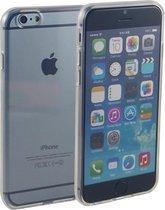 Siliconen gel TPU hoesje transparant - iPhone 6 en 6s
