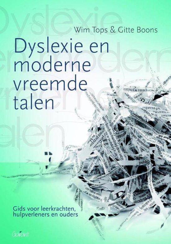 Dyslexie en moderne vreemde talen - Wim Tops |