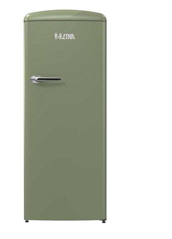 Kastmodel koelkast: ETNA KVV754GRO - Retro - Kastmodel Koelkast met vriesvak, van het merk ETNA