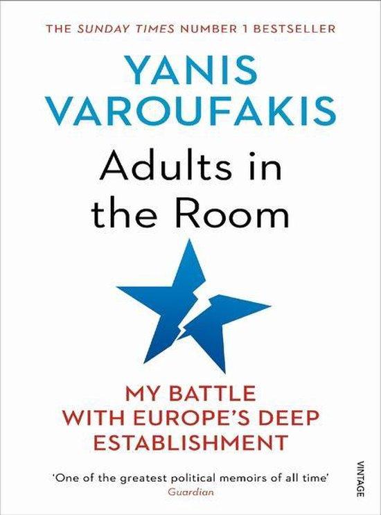 Boek cover Adults In The Room van Yanis Varoufakis (Paperback)