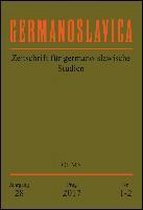 Germanoslavica. Zeitschrift für germano-slavische Studien.