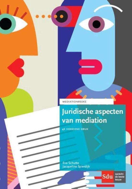 Afbeelding van Juridische aspecten van mediation