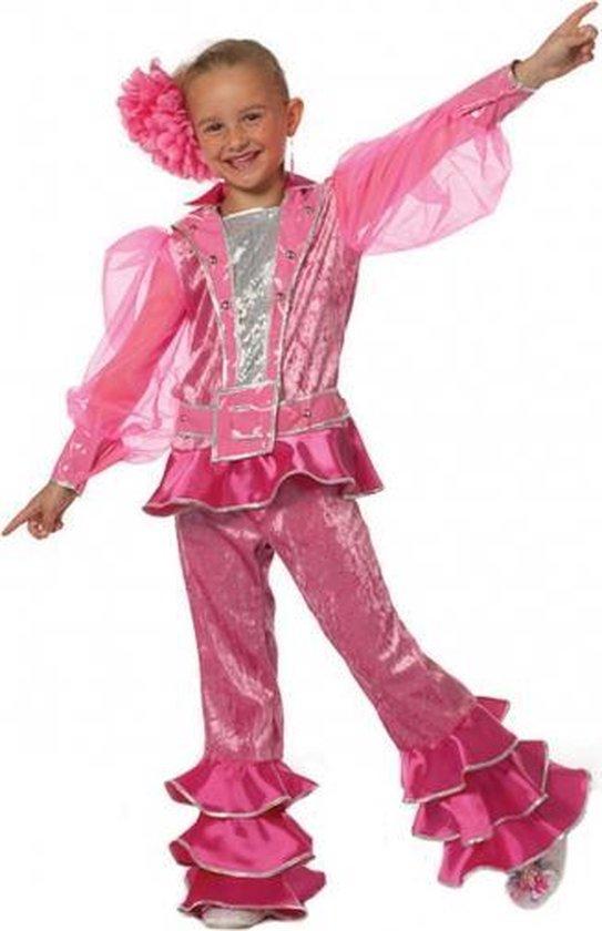 Roze Mama Mia kinder outfit 128
